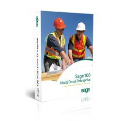Sage MULTI-DEVIS 100 Entreprise - Souscription Annuelle