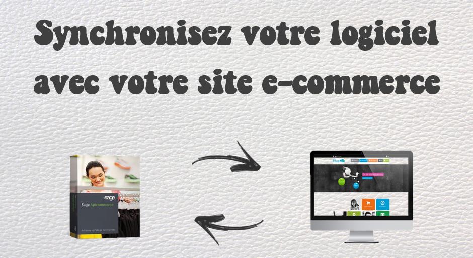 synchronisez votre logiciel Sage avec votre site internet